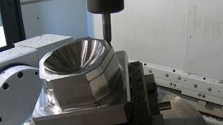 Demo Using Barrel Endmills to Reduce Finishing Operations Time   Seco Tools