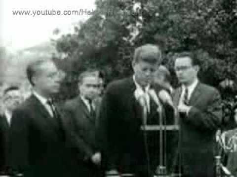 October 22, 1963 - Bolivian President Víctor Paz Estenssoro visits President John F. Kennedy