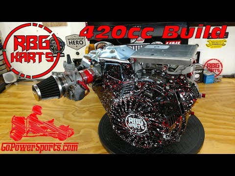 420cc Predator Stage 2 Engine Build ~ Billet Rod, Billet Flywheel & Performance Cam