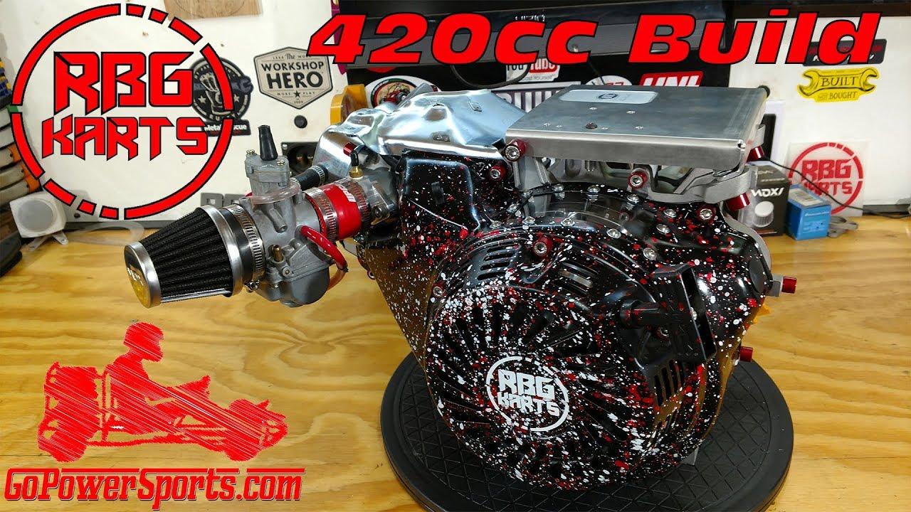 420cc Predator Stage 2 Engine Build ~ Billet Rod, Billet Flywheel &  Performance Cam