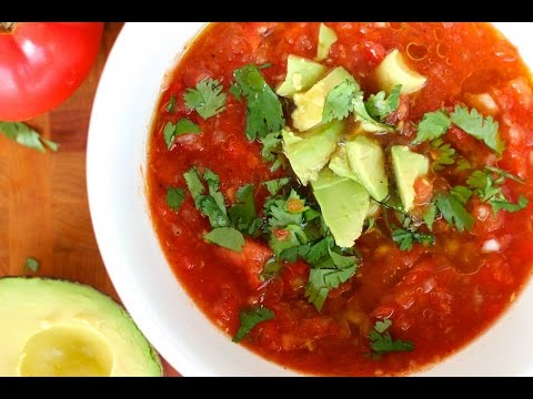 Soup Recipe: Chilled Tomato Gazpacho By Everyday Gourmet With Blakely