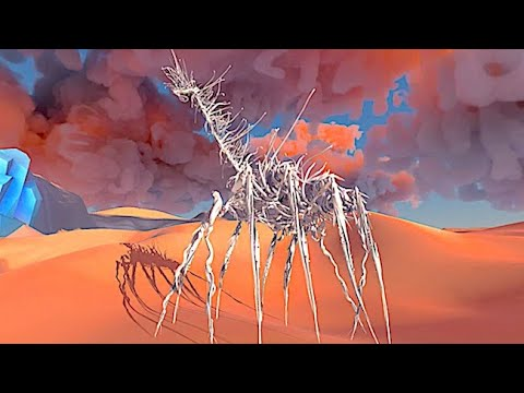Paper Beast: A Surreal Dreamlike Ecosystem of Strange Paper Beasts from the Creator of Another World