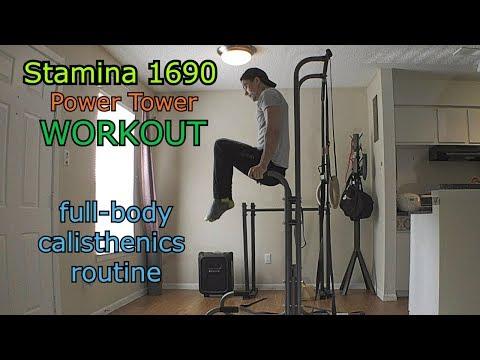 Stamina 1690 Power Tower Workout
