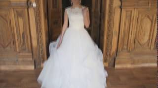 Купить свадебное платье с открытой спиной