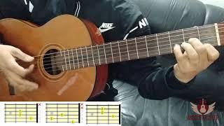 Hatim Ammor - Aalach Ya Lil  guitar cover