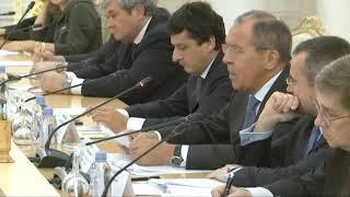 Выступление С.Лаврова на Деловом Совете при Министре, Москва, 18 декабря