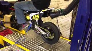 LMX - MXT 140cc Pit bike Dyno rolling road