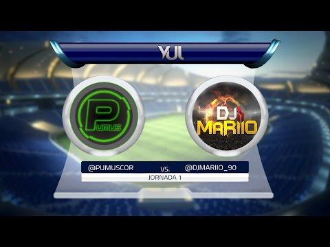 FIFA 15 | Liga YUL | 1ª JORNADA | Pumuscor vs DjMaRiiO