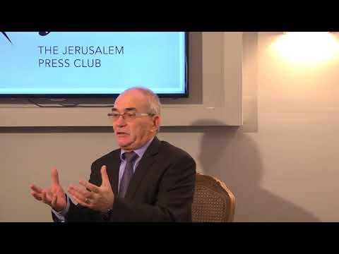 Yossi Kuperwasser briefing at JPC  25 1 2018