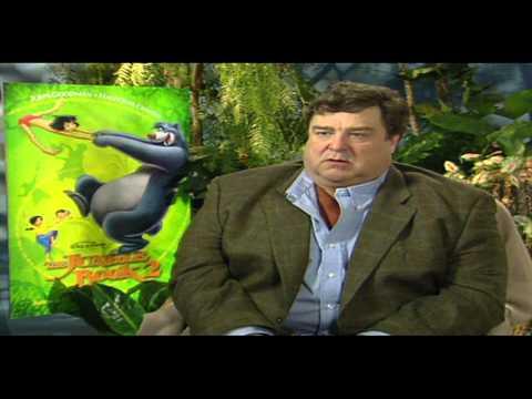 "Jungle Book 2: John Goodman ""Baloo"" Interview"