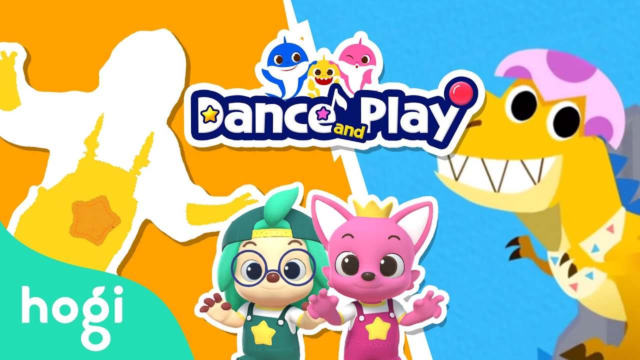 Baby T-Rex Dance and Play with Pinkfong | Learn Dance Moves Fun | Dance with Hogi & Pinkfong
