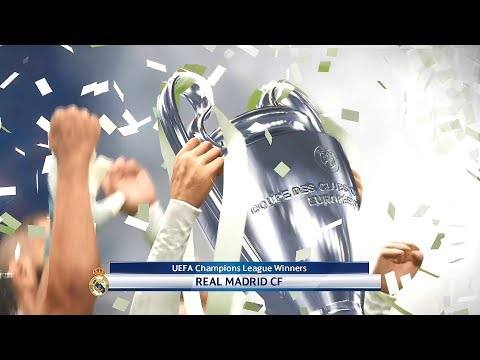 PES 2018 Real Madrid Vs. Liverpool | UEFA Champions League Final Match Highlights