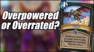 Is Glide Overpowered or Overrated? | Card Review (Part 3) | Scholomance Academy | Hearthstone