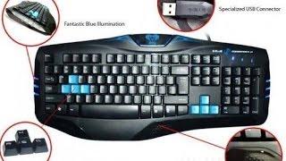 E-Blue Combatant-X cobra Обзор игравой клавы