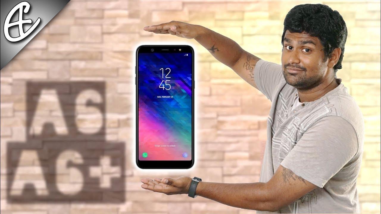 Samsung Galaxy A6 Galaxy A6 Plus A6 Infinity Display On
