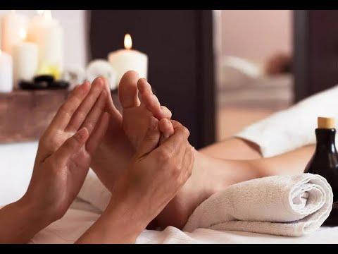 Расслабляем мужчину: массаж стоп