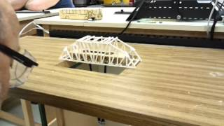 Testing Balsa Wood Bridge