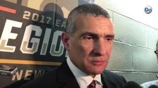 South Carolina coach Frank Martin on beating Baylor in New York City