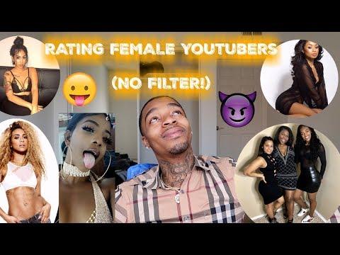 RATING FEMALE YOUTUBERS 1-10! ft. De'arra , Queen Naija, BabyMomma Crew & MORE!