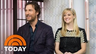 Reese Witherspoon, Matthew McConaughey On 'Sing' And Parenthood | TODAY