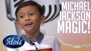 ADORABLE Brothers Sing Michael Jackson On Indonesian Idol Junior! | Idols Global