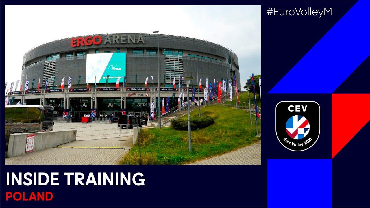 Poland, Russia, Netherlands & Serbia go through their final paces I INSIDE TRAINING I EuroVolleyM