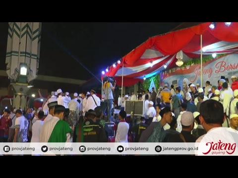 Live - Santri Siap Menjaga NKRI   Habib Syech & @ganjarpranowo  #JatengBersholawat #JatengGayeng