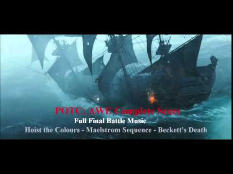 Pirates of the Caribbean:At World's End Complete Score-Maelstrom Battle (Full)