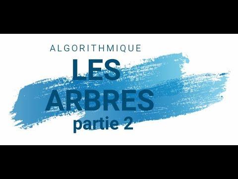 ASD : Les Arbres - Exemple Partie 2 (darija)
