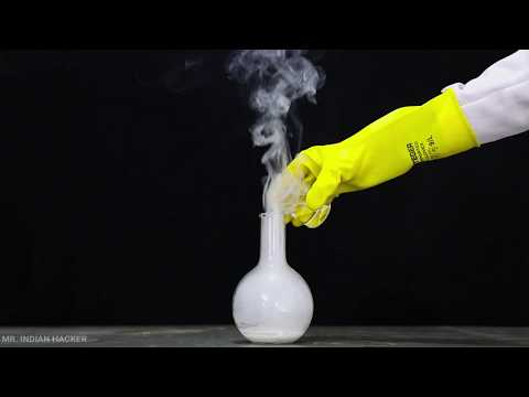 Wow!!! Magic smoke without fire - Top Awesome Science Experiment in Hindi
