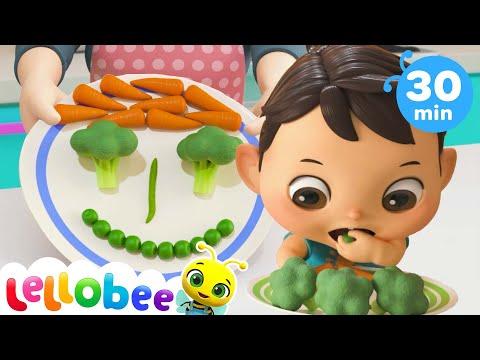 Yes Yes Vegetables Song   Little Baby Bum   Kids Songs   Nursery Rhymes   Sleep Baby Songs