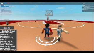 Man Got his ankles broke Bad!-Roblox Basketball Engine