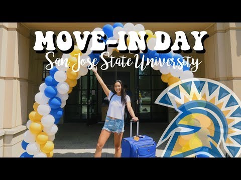 COLLEGE MOVE-IN DAY VLOG | San Jose State University