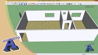 Curso de SketchUp - Aula 05/20 - Módulo Básico - Autocriativo