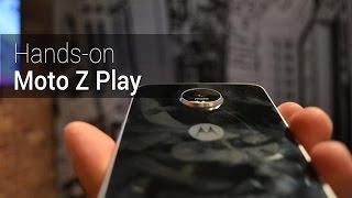 Hands-on e primeiras impressões do Moto Z Play | TudoCelular.com