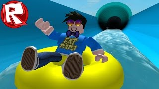ROBLOX AWESOME WATERPARK!!