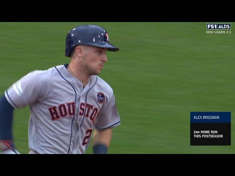 HOU@BOS Gm4: Bregman mashes game-tying homer to left