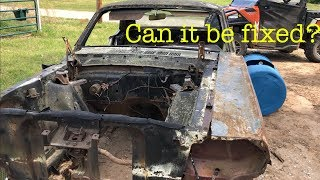 Rebuilding a Wrecked 1965 Mustang Part 1