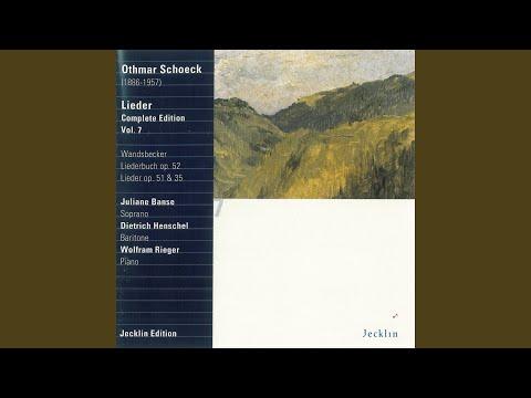 Wandsbecker Liederbuch, Op. 52: No. 3, Ein Wiegenlied, bei Mondschein zu singen