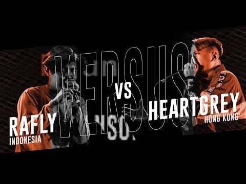 RAFLY (ID) vs HEARTGREY (HK) |Asia Beatbox Championship 2018 TOP8 Solo Battle