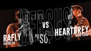 RAFLY (ID) vs HEARTGREY (HK) |Asia Beatbox Championship 2018  TOP8 Solo Battle MP3