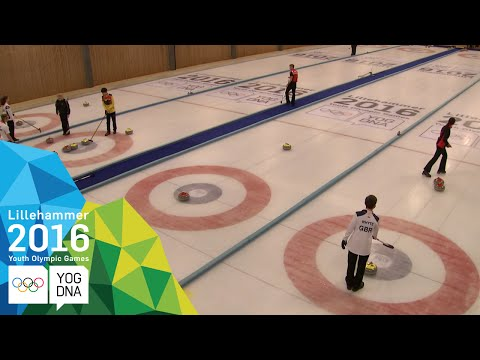 Curling Mixed Doubles - Round of 32 (2) | Lillehammer 2016 Youth Olympic Games