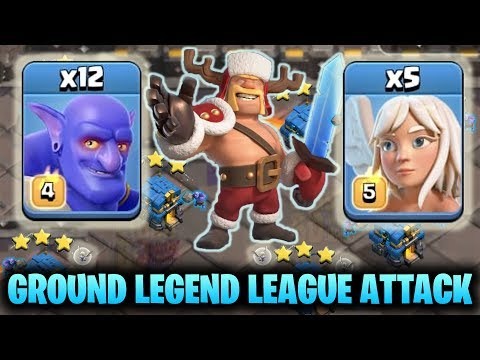 Ground Legend Leauge Attack - Top 3s Attack - 3star TH12 Legend Base - Clash Of Clans