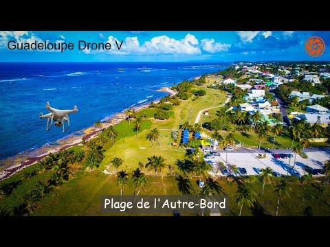 HD Drone Video | Plage de l'Autre Bord, Guadeloupe
