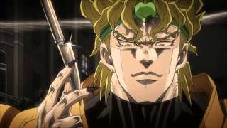 jojos dios za warudo knife throw hd
