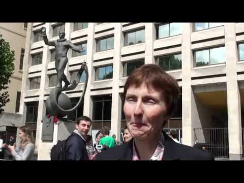 Helen Sharman speaks about Russo-British space cooperation, 14 July 2011