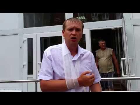 ОГРАБЛЕНИЕ ПРИСТАВАМИ В СУДЕ. Особо опасный юрист избит в наручниках