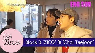 "ZICO(Block B) & Choi Taejoon, Celeb Bros S2 EP1 ""I Am You, You Are Me"""