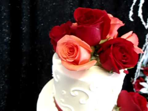 A Wedding Cake from Bamboo Bakery Phoenix Arizona YouTube