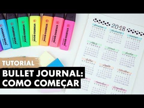 Download Youtube: Bullet Journal: Como Começar | Primeiro Rabisco